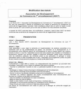 Statut 2011
