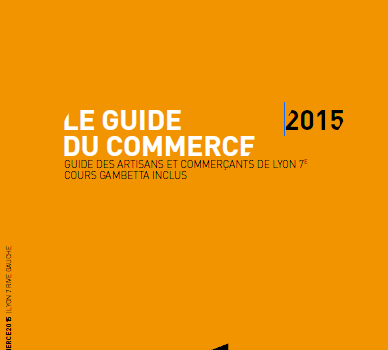 Fin de la distribution du Guide du Commerce de Lyon 7e
