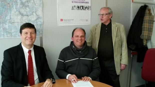 Renouvellement du partenariat avec la Caisse d'Epargne Rhône-Alpes