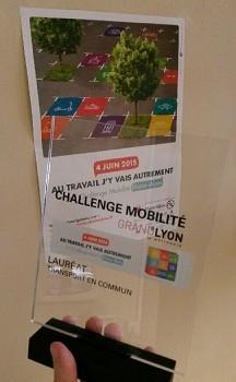 Lyon 7 Rive Gauche récompensé par le Challenge Mobilité 2015