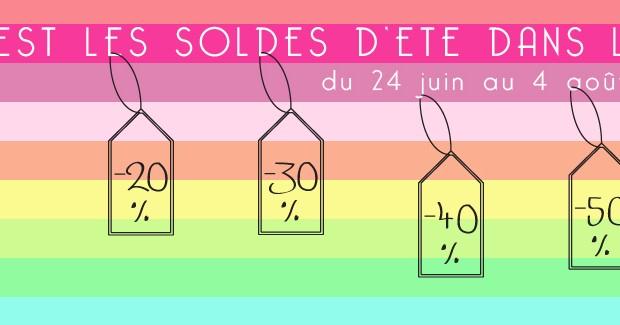 Les soldes d'été se poursuivent à Lyon 7e