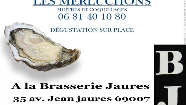 Paye ton huître à la Brasserie Jaurès