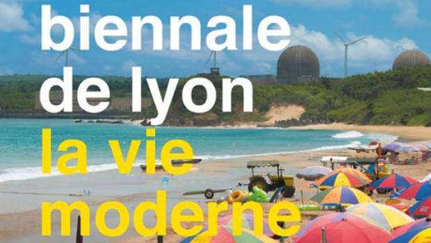 La Biennale de Lyon sur la place des Pavillons à Gerland
