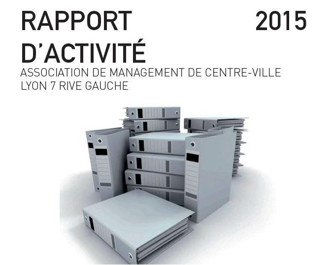 Rapport d'activité 2015 Couverture