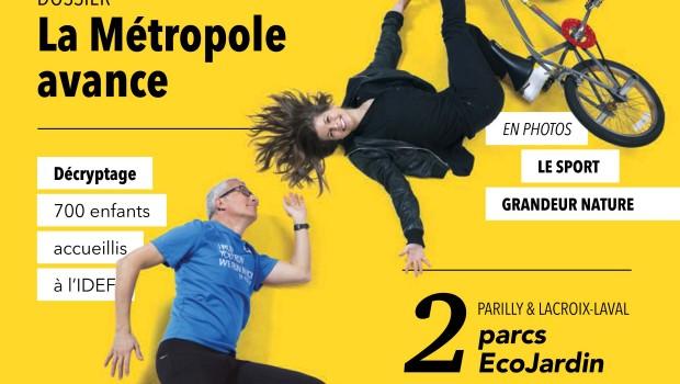 Le MET' : le nouveau magazine de la Métropole de Lyon !