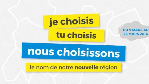 Nouveau nom de région, à vous de choisir!