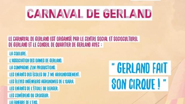 Carnaval de Gerland : «Gerland fait son cirque»