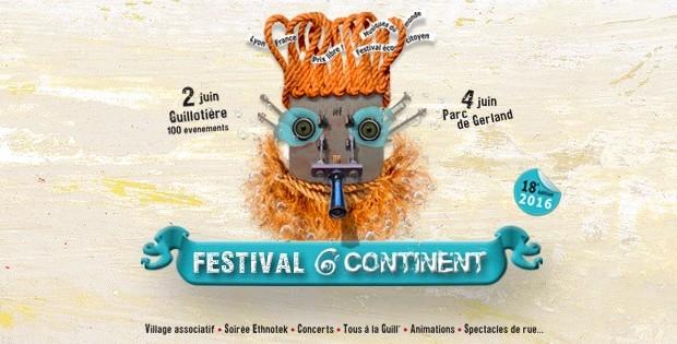 Festival 6ème Continent, «Tous à la Guill» le jeudi 2 juin 2016
