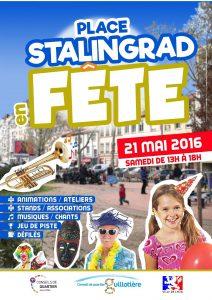 Place Stalingrad en fête - samedi 21 mai