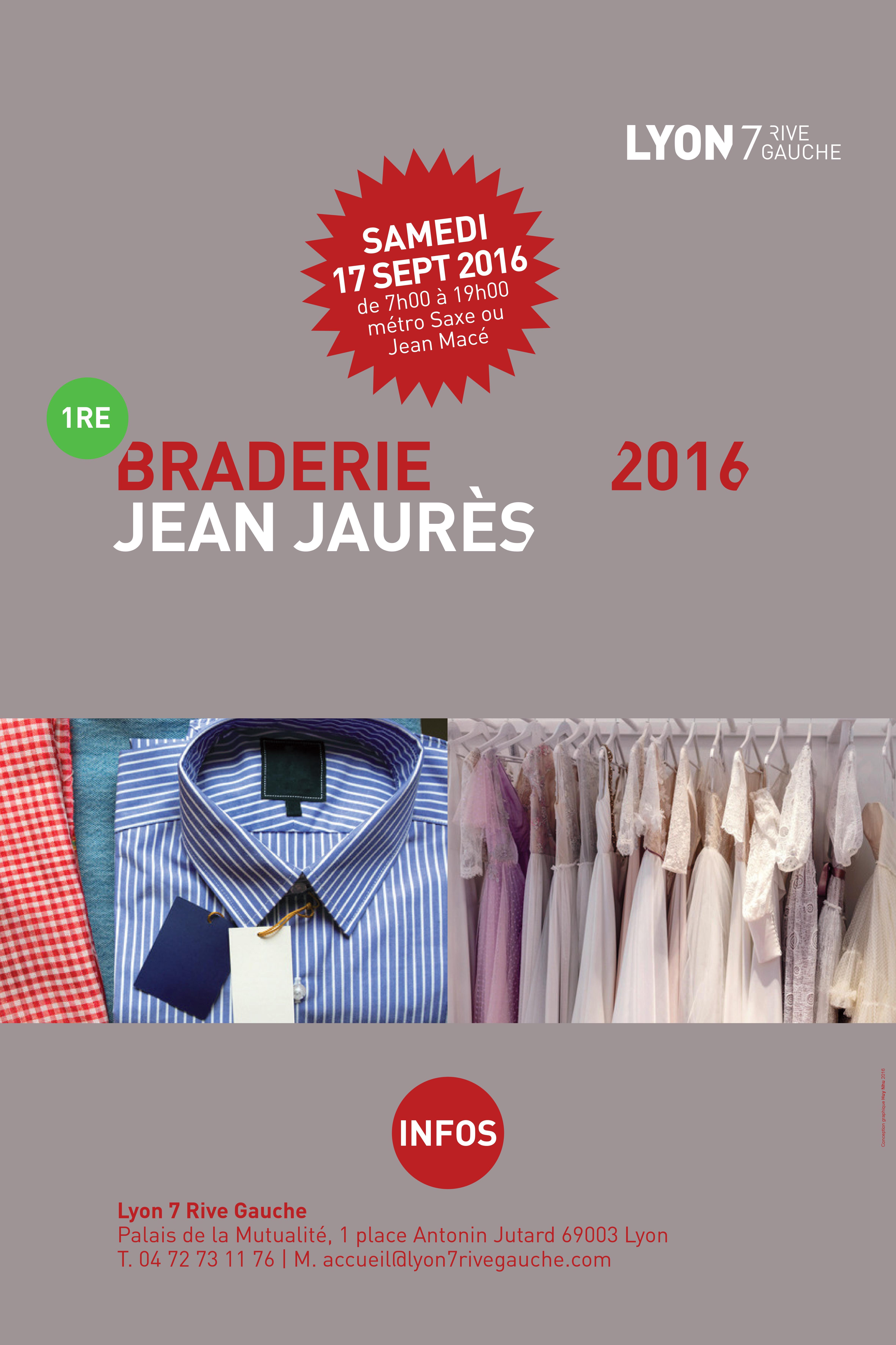 1ère Braderie de l'avenue Jean Jaurès