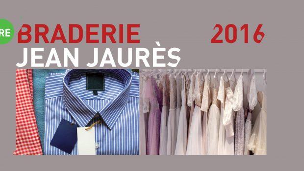 1re braderie de l'avenue Jean Jaurès le samedi 17 septembre 2016