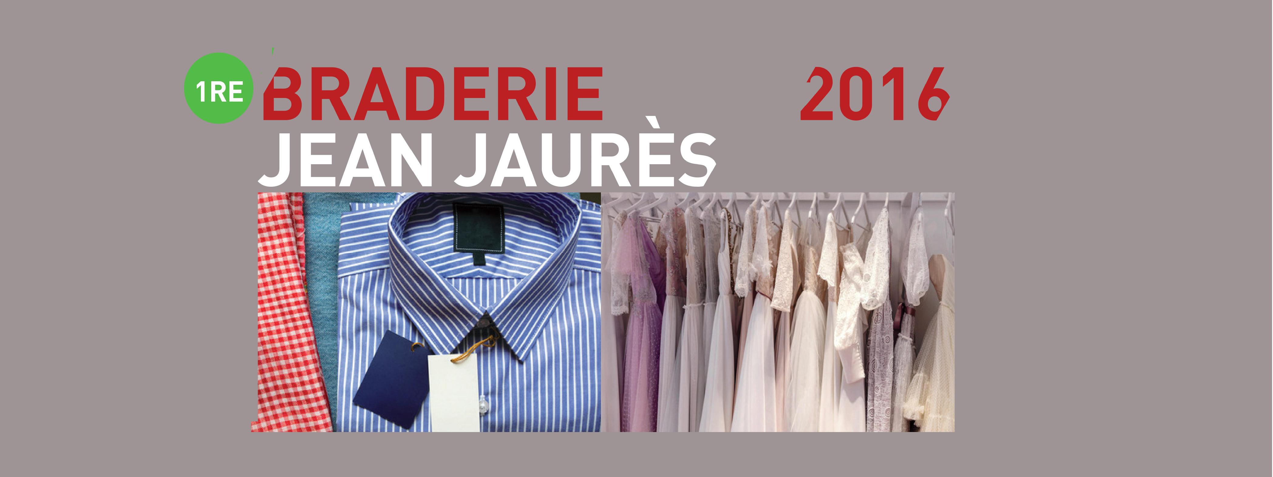 braderie de l'avenue Jean Jaurès