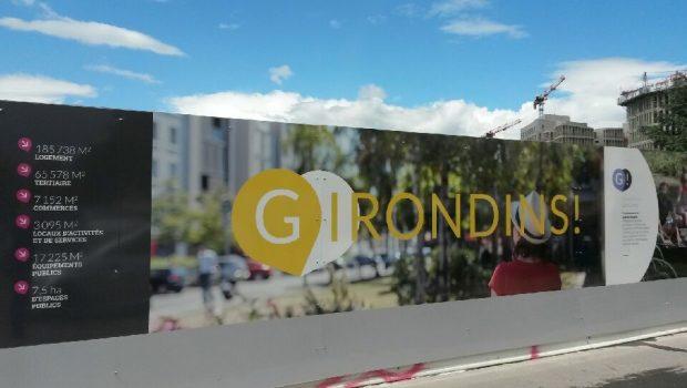 ZAC des Girondins: une nouvelle rue, une nouvelle place