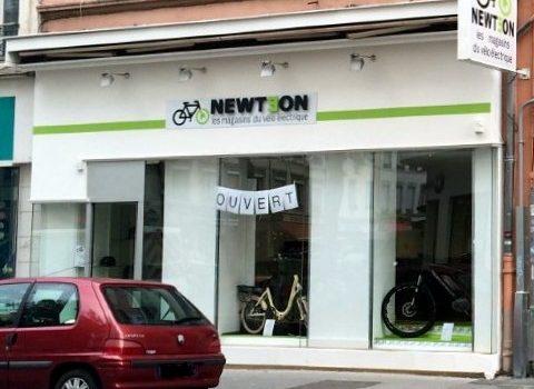 Le Groupe Newteon, spécialiste du deux-roues électrique, ouvre son 6e magasin à Lyon 7e