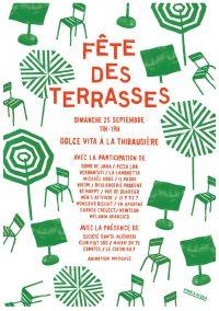 Fête des Terrasses dimanche 25/09
