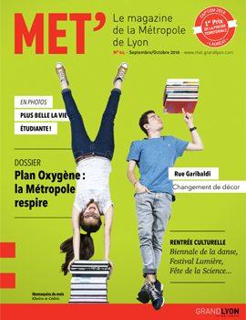 Le magazine Mét' et ses points de distribution