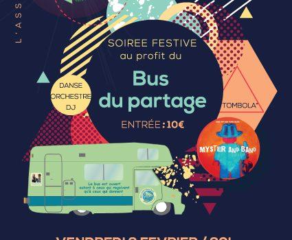 Le Bus du Partage fête ses un an !