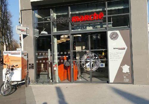 Intermarché a ouvert sur la rue Garibaldi