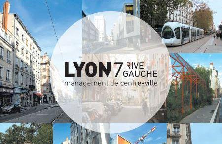 Lyon 7 Rive Gauche édite sa nouvelle plaquette de présentation