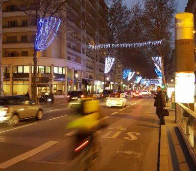 9 compteurs vélos à Lyon 7e