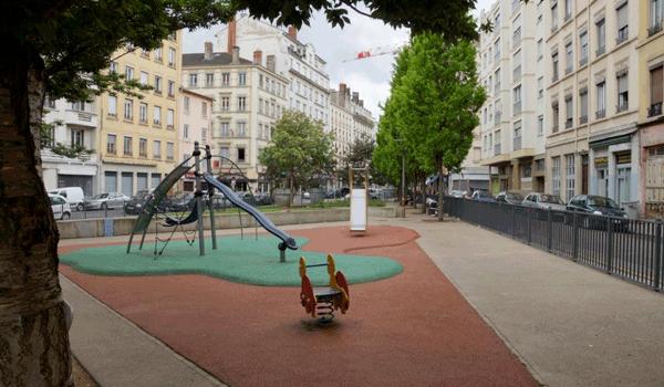 Inauguration du composteur de quartier du square Jules Guesde