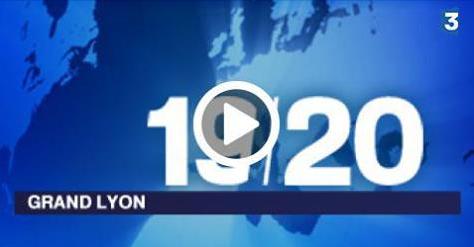 Lyon 7 Rive Gauche dans l'édition Grand Lyon du 19/20 de France 3
