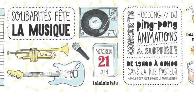 Fête de la Musique ce soir à Guillotière