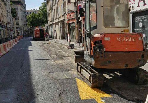 Réaménagement de la grande rue de la Guillotière cet été