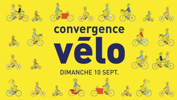 Convergence vélo 2017 : rendez-vous le 10 septembre !