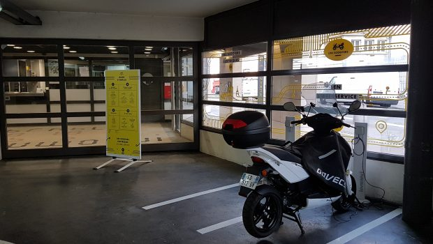 Le parking Berthelot accueille une station LPA Scooters