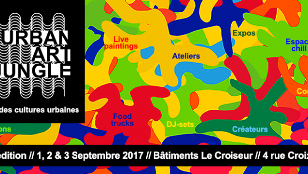 Urban Art Jungle : Rendez-vous les 1, 2 et 3 septembre pour une expérience artistique et sensorielle inédite !