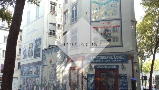 Les Fresques de Lyon 7 : Le mur du cinéma