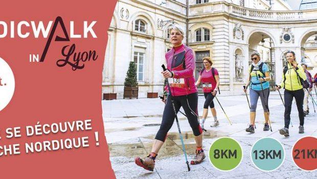 NordicWalkin'Lyon : La Ville se découvre en Marche Nordique, rendez-vous les 7 et 8/10