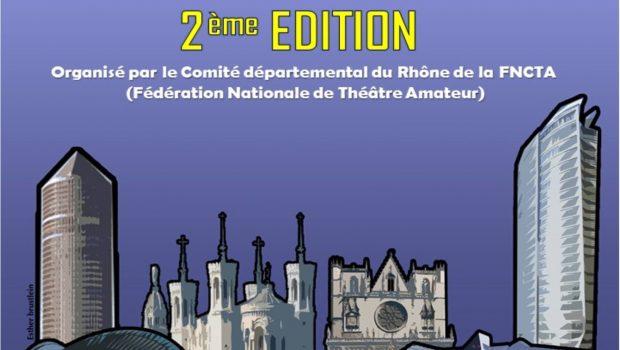 Du 12 au 15/10 – 2e édition du festival amateur de Lyon : rendez-vous au théâtre de la Gourguillonnaise !