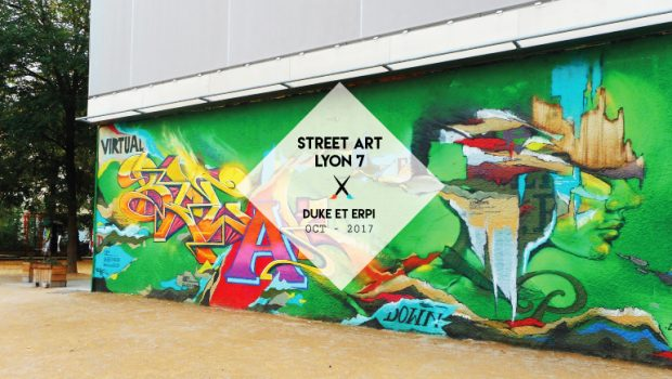 Découvrez la nouvelle oeuvre « street art » de Olive Duke et Erpi Pier sur le mur de la Gâche Place Mazagran