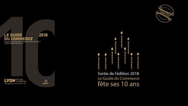 Sortie de l'édition 2018 du Guide du Commerce de Lyon 7e