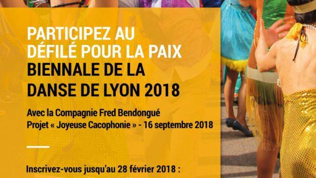Joyeuse Cacophonie : le projet de défilé de la Biennale de la Danse 2018