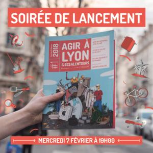 Lancement du magazine Agir à Lyon à la maison de l'environnement !