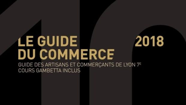Fin de la distribution de l'édition 2018 du Guide du Commerce de Lyon 7e
