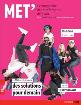 Le Mét, le magazine de la Métropole de Lyon