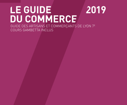 Fin de la distribution de l'édition 2019 du Guide du Commerce de Lyon 7e