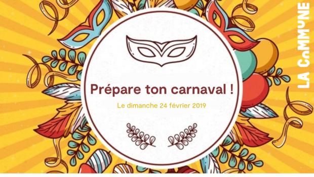Préparation du Carnaval de Gerland 2019