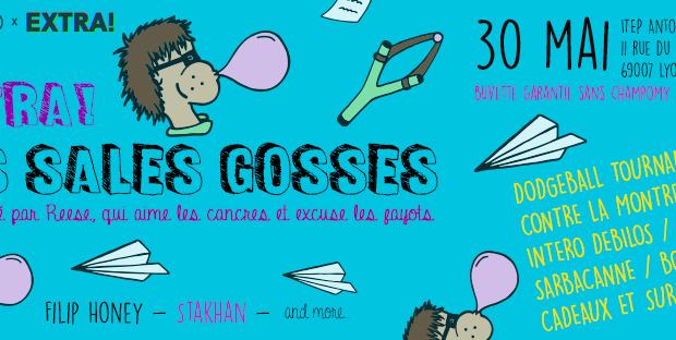 Les Sales Gosses, un Extra des Nuits Sonores 2019