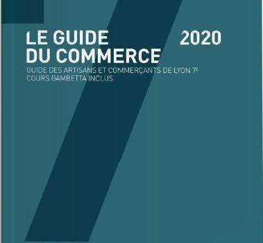 Commercialisation en cours de la 12e édition du Guide du Commerce de Lyon 7e