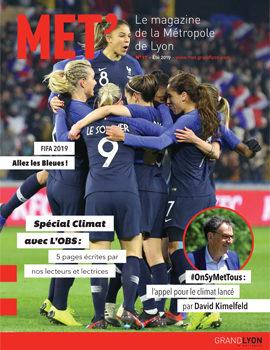 Devenez distributeur du magazine le Mét