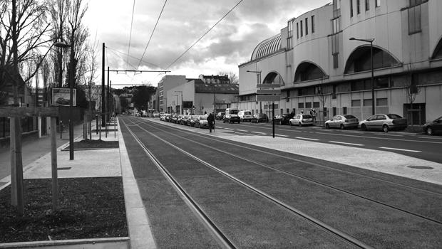 Premier bilan de la fréquentation du tramway T1 à Gerland