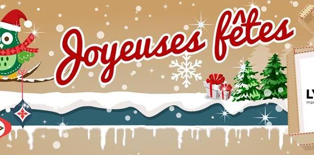 Lyon 7 Rive Gauche vous souhaite de Joyeuses Fêtes