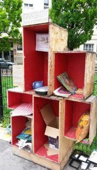 Un projet de givebox place Saint-Louis