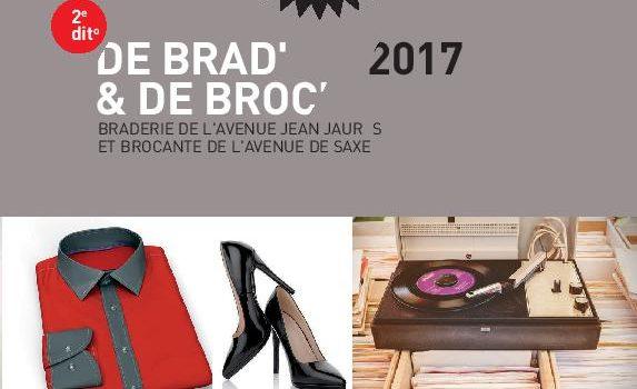 Samedi 23 septembre 2017 : 2e édition de «De Brad' et de Broc'»