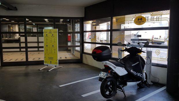 Le parking Berthelot accueille une station LPA Scooters